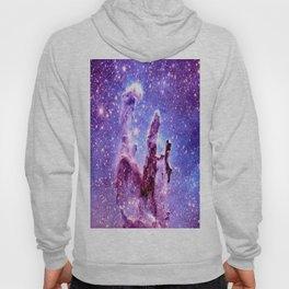 Galaxy Nebula : Pillars of creation Hoody