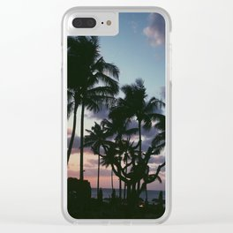 ~Hawaii~ Clear iPhone Case