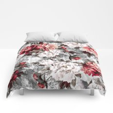 Watercolor Roses Comforters
