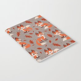 Cute Foxes Notebook