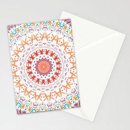 FESTIVAL SUMMER - MANDALA SUNSHINE Stationery Cards