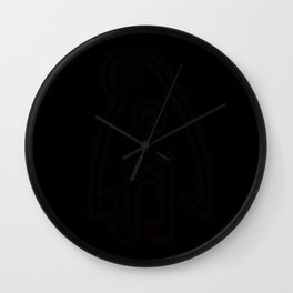 Ghost Stave Wall Clock