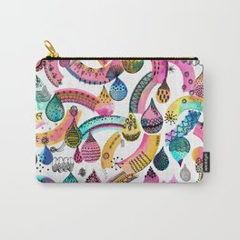 Rainbow lace - Christmas happiness drops Carry-All Pouch