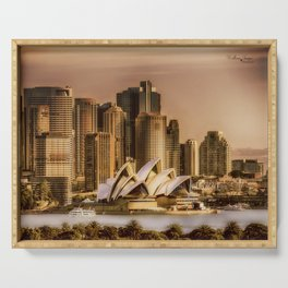 Sydney Cityscape Serving Tray