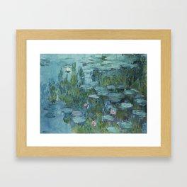 Nymphéas, Claude Monet Framed Art Print