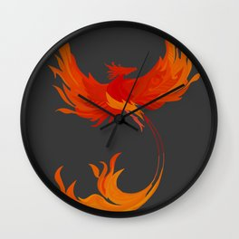 Order of the Phoenix Wall Clock
