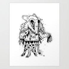 Happy Madness Art Print