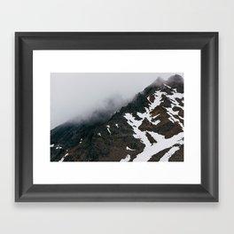 Mount Ruapehu Peak Framed Art Print