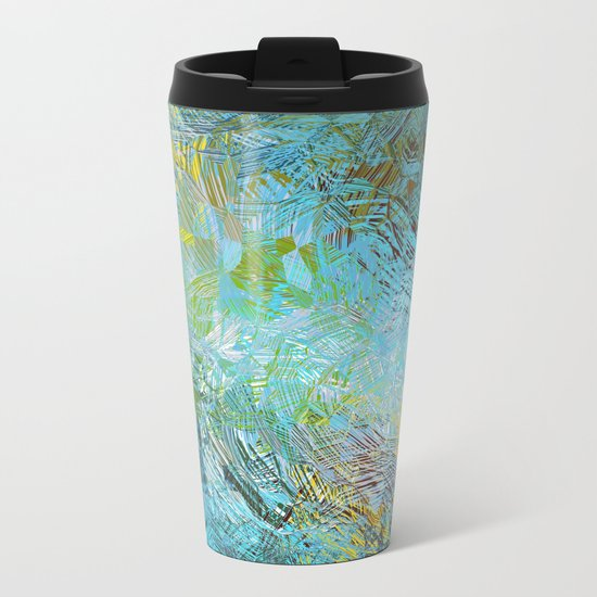 Frosted Illusions Metal Travel Mug