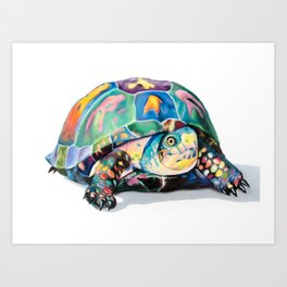 Candy Turtle Art Print
