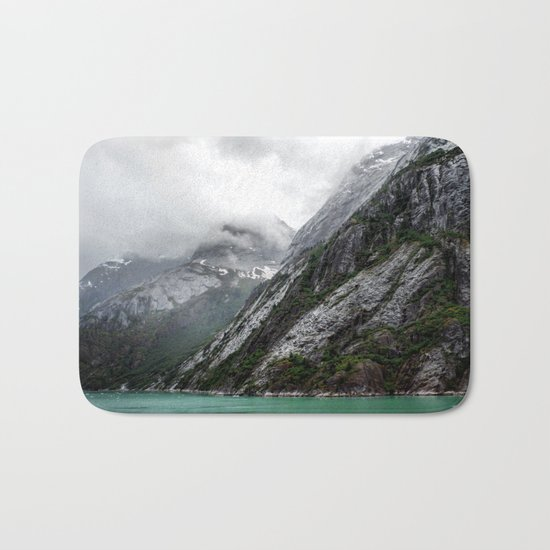 Gray Stone Mountain Bath Mat