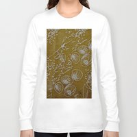 shells Long Sleeve T-shirts featuring Shells by ANoelleJay