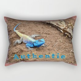 Authentic Agama Rectangular Pillow