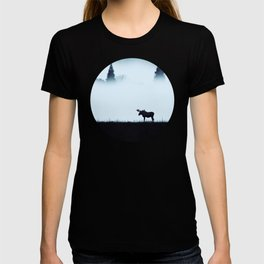 The moose - minimalist landscape T-shirt