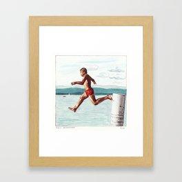 Geronimooo Framed Art Print