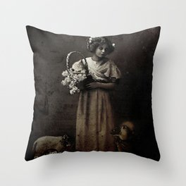 Like Lambs to the Slaughter Throw Pillow