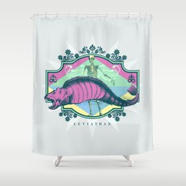 Pastel LEVIATHAN Shower Curtain