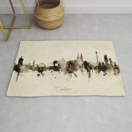 Cologne Germany Skyline Rug