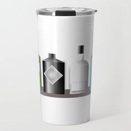 Gin Bottles Travel Mug