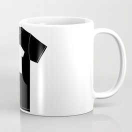 White T-Shirt With a Picture of My Black T-Shirt With a Picture of My White T-Shirt Coffee Mug