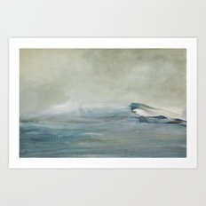 la vague Art Print