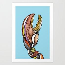 Crusher Art Print