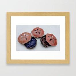 Glass Pies Framed Art Print