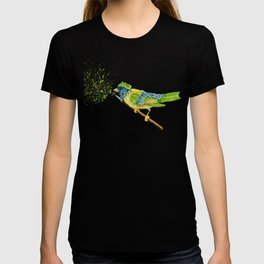 Feathers & Flecks (Canvas Background Edition) T-shirt