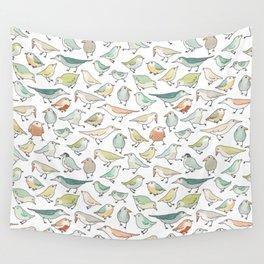 birds outside my window Wall Tapestry
