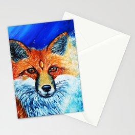 Red Fox Spirit Stationery Cards