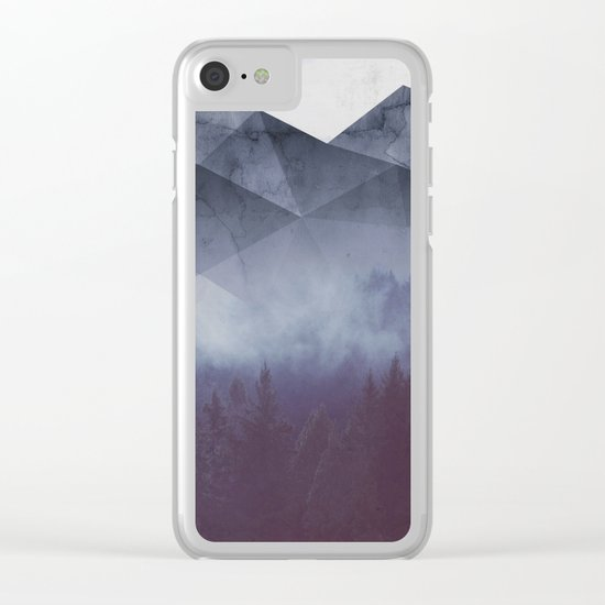 Winter Glory Clear iPhone Case