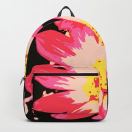 big yellow center, nature beauty Backpack