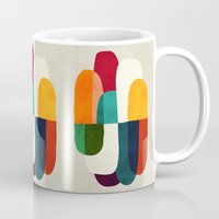 the cure Mugs featuring The Cure For Sleep by Picomodi