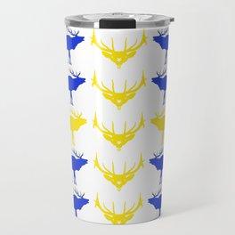 Graphic Swedish Elk Flag II Travel Mug
