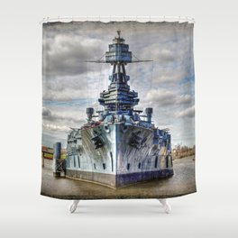 USS Texas Shower Curtain