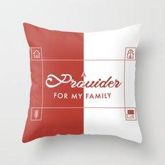 Provider Throw Pillow