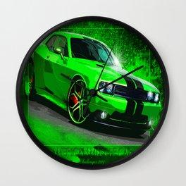 Dodge Challenger 2014 Wall Clock