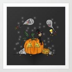 Halloween Spirits Art Print