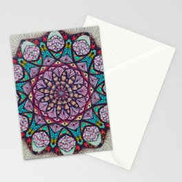 Creation Mandala - מנדלה בריאה Stationery Cards