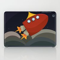 rocket iPad Cases featuring Rocket by S. Vaeth