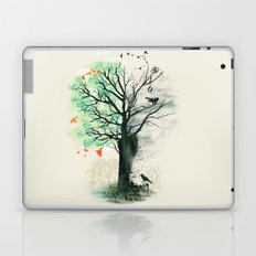 They Loved the Landscape to Death Laptop & iPad Skin
