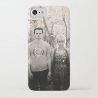 boyfriend iPhone & iPod Cases featuring Boyfriend, Girlfriend. by Carissa Leigh