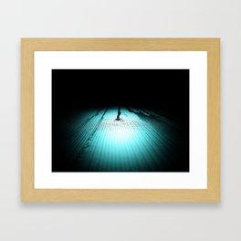 Intimidate Framed Art Print
