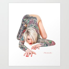Alvarado  Art Print