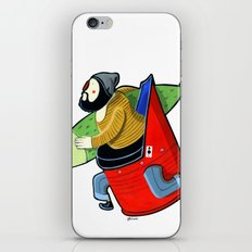 MORO brother A iPhone & iPod Skin