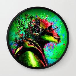 Acid Ape Wall Clock