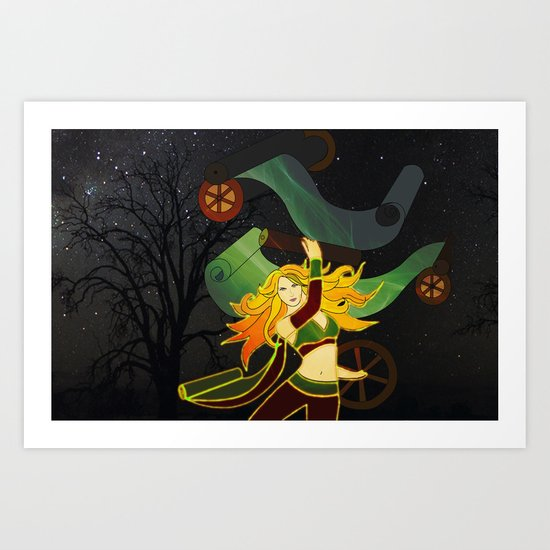 Superhero Art Print