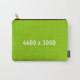 3000x2400 Placeholder Image Artwork (Ebay Green) Carry-All Pouch