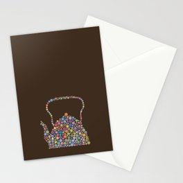 teapot / tetera Stationery Cards