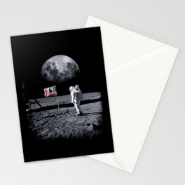 The Great Conspiracy: The Moon Is a Lie Stationery Cards